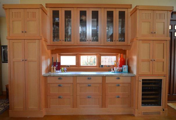 Craftsman Kitchen by Sarah Greenman