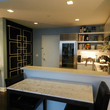 Contemporary Kitchen by Frances Bailey