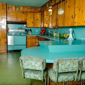 My Houzz: Bold Vintage Color in a 1962 Austin Ranch House