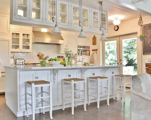Hanging cabinets houzz for Hanging kitchen cabinets