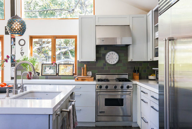 Eclectic Kitchen by STRUKTR Studios Photography