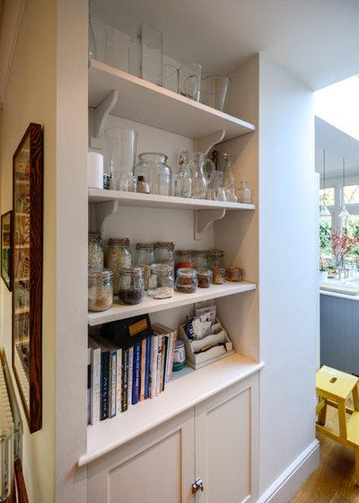 Klassisch modern Küche My Houzz: Casual Comfort in a London Victorian