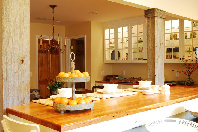 Rustic Kitchen by Corynne Pless