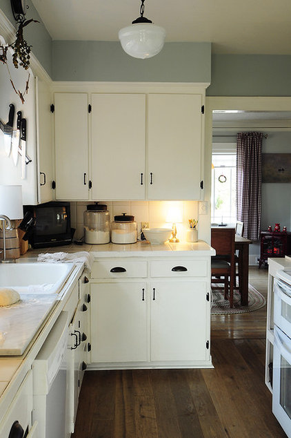 eclectic kitchen by Julie Smith