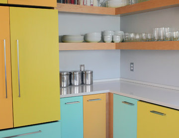 My Houzz: Color and Light in a Midcentury Ranch