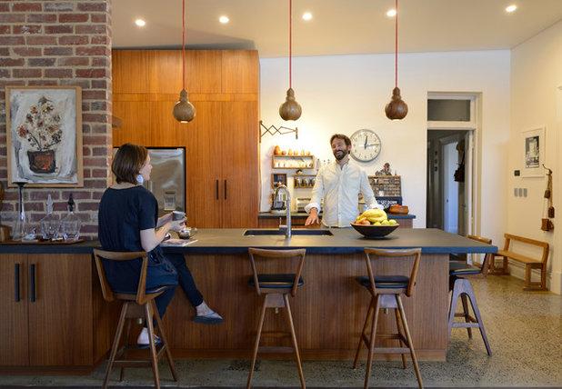 Midcentury Kitchen by Jeni Lee