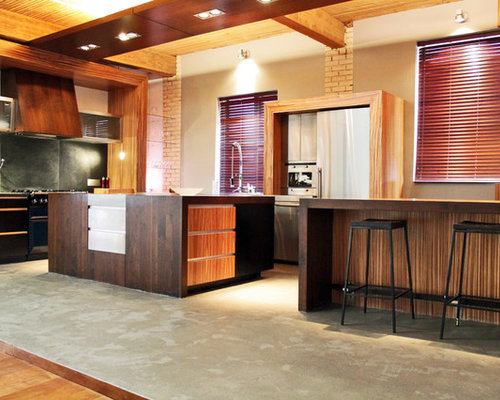 Zen style kitchen design ideas renovations photos for Zen style kitchen designs