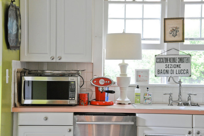 Eclectic Kitchen by CM Glover