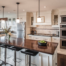 Transitional Kitchen by Becki Peckham