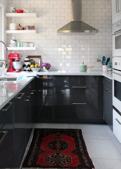 Midcentury Kitchen by Laura Garner