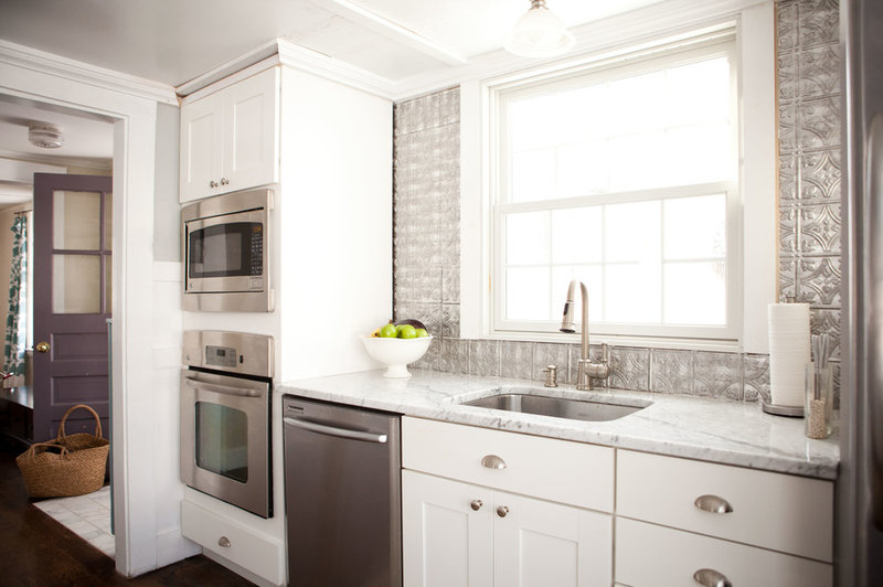 White Kitchens Houzz. black and white kitchen varieties steven ...