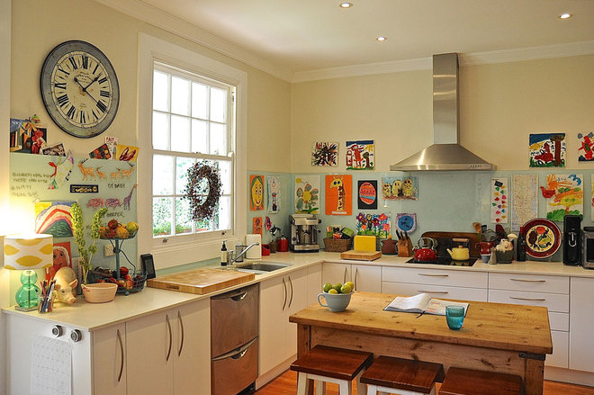 Eclectic Kitchen by Luci.D Interiors