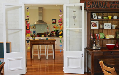 Simple My Houzz My Houzz Lively Color Animates a Traditional Aussie Home