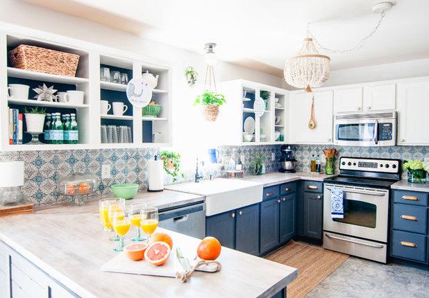Farmhouse Kitchen by Alexandra Crafton