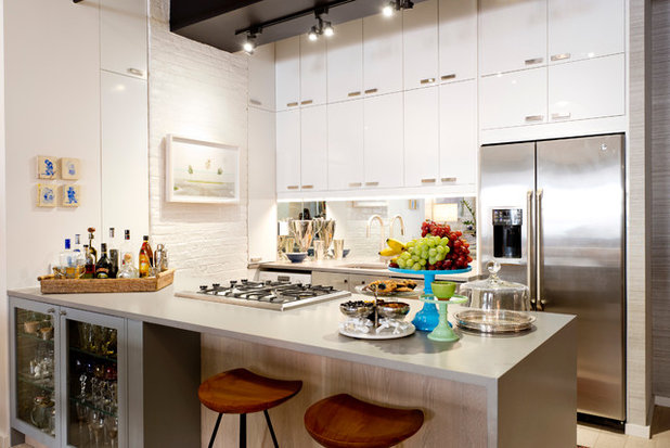 My Houzz Fresh Color And A Smart Layout For A New York