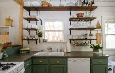 My Houzz: Friends Help With the DIY Redo of a San Antonio Kitchen