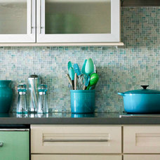 Beach Style Kitchen by Mina Brinkey