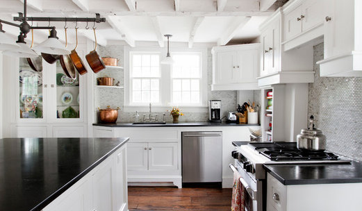 Peachy 75 Beautiful Kitchen Pictures Ideas Houzz Home Remodeling Inspirations Genioncuboardxyz