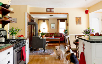 My Houzz: Handmade Coziness in a Potter's New England Home and Studio