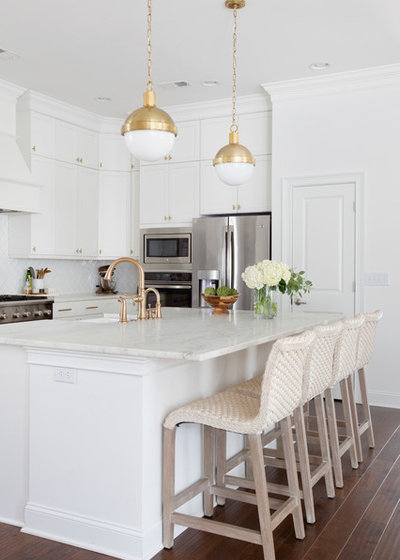 Traditional Kitchen by Margaret Wright Photography