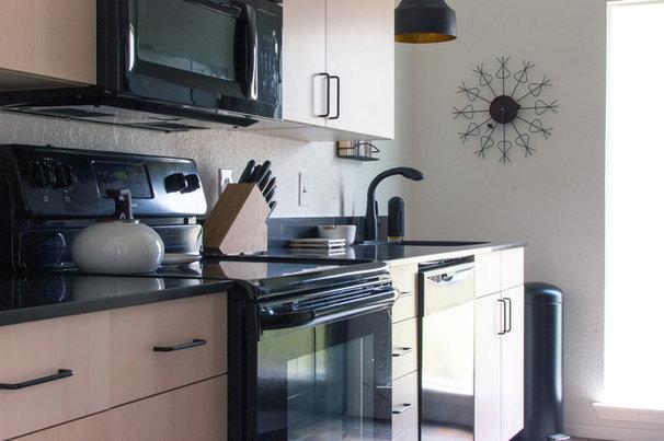 Midcentury Kitchen by Angela Flournoy