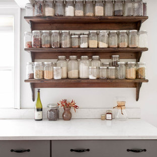 Farmhouse kitchen appliance - Kitchen - country kitchen idea in Other