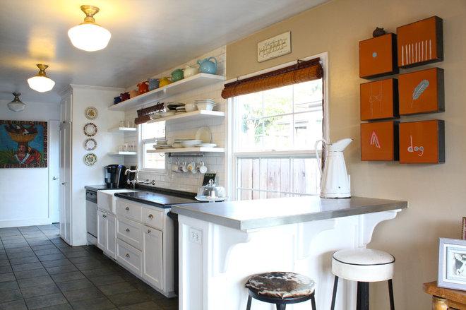 Beach Style Kitchen by Shannon Malone
