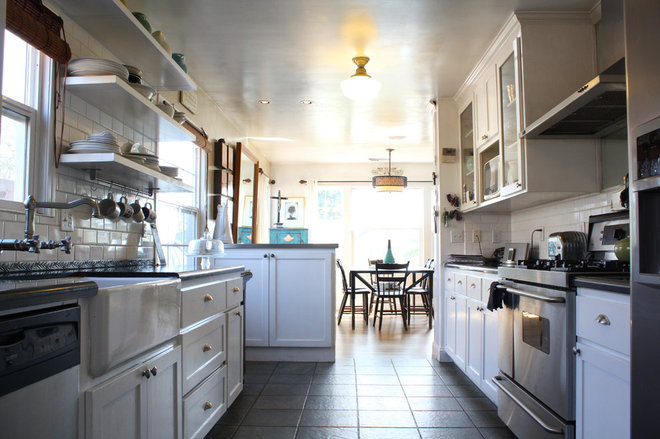 Beach Style Kitchen by Shannon Malone