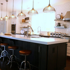 Contemporary Kitchen by Mina Brinkey