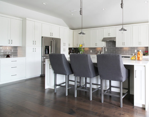 Contemporary Kitchen by Kristin Laing