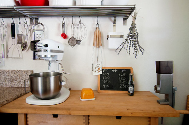 Eclectic Kitchen by Alexandra Crafton