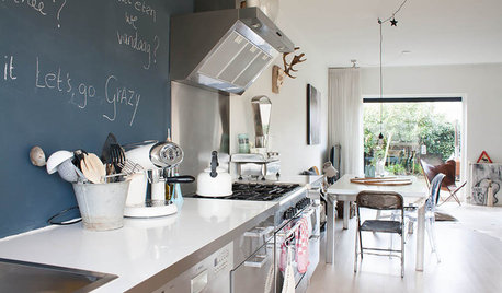 My Houzz: A Home-made Family Haven That's Laid-back and Stylish