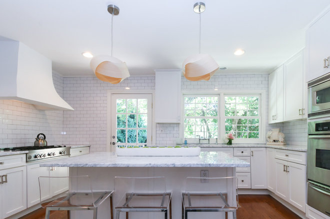 Transitional Kitchen by Michaela Dodd
