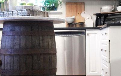 10 Creative Ways to Corral Wooden Barrels