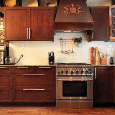 Eclectic Kitchen by Laura Garner