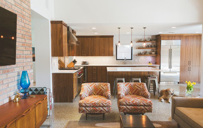 My Houzz: 1955 Texas Ranch Moves On Up With a Modern Addition