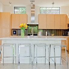 Contemporary Kitchen by Sarah Natsumi Moore