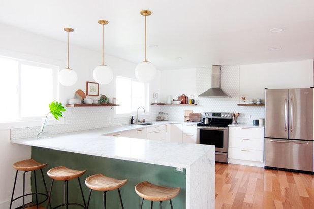 Midcentury Kitchen by Alexandra Crafton