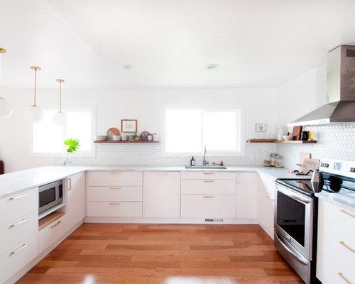 Midcentury Kitchen Design Ideas & Remodel Pictures | Houzz