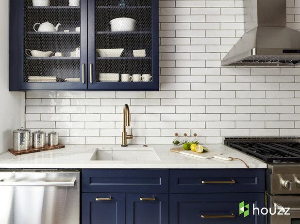 Transitional Kitchen by Ferrarini & Co. Kitchens & Interiors