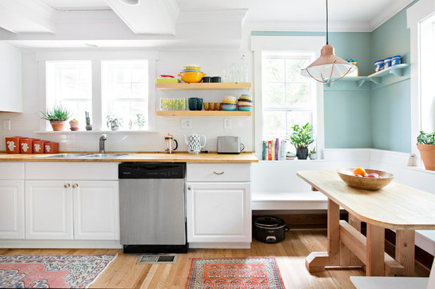 Farmhouse Kitchen by Caroline Sharpnack