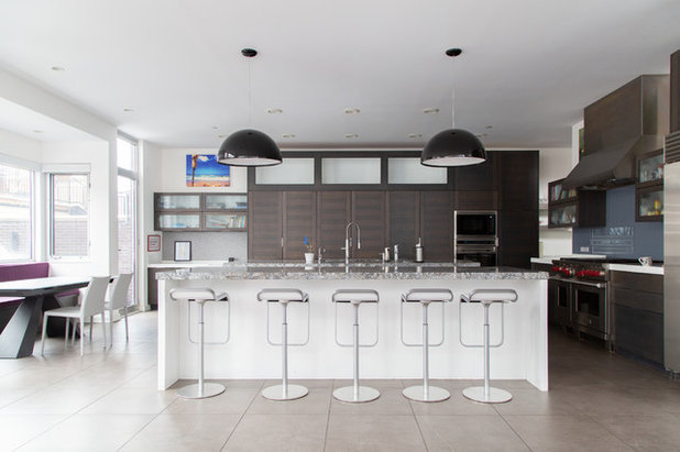 Contemporary Kitchen by Rachel Loewen Photography