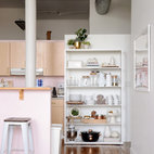 My Houzz: Pretty Pinks and Neutrals in a Chic Providence Loft