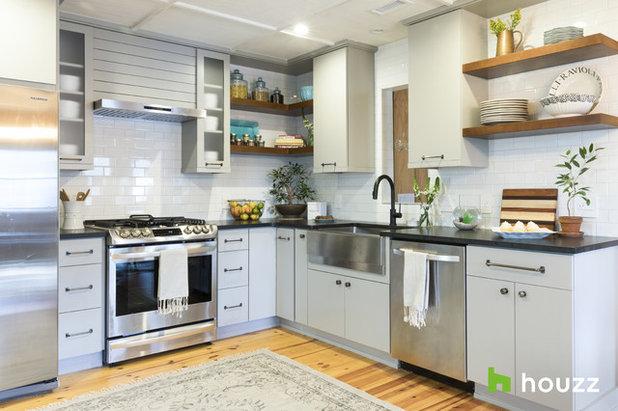 Farmhouse Kitchen by PBC Design + Build