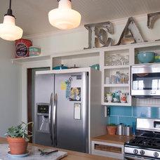 Eclectic Kitchen by Adrienne DeRosa