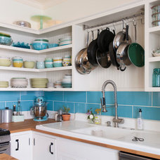 Eclectic Kitchen by Adrienne DeRosa