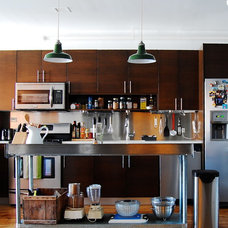 Industrial Kitchen by Corynne Pless