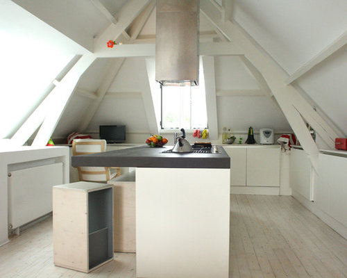 attic kitchen designs attic kitchen houzz 1384