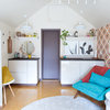 My Houzz: Retro Style in a Detached Garage-Turned-Tiny Home