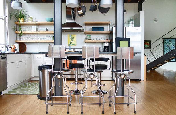 Contemporary Kitchen by Laura Garner